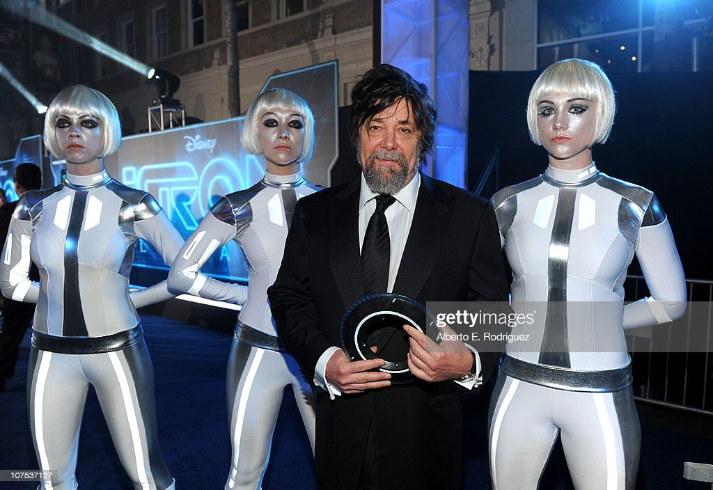 Producer Steven Lisberger arrives at Walt Disney's 'TRON: Legacy' World Premiere held at the El Capitan Theatre on December 11, 2010 in Los Angeles, California.