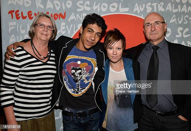 Producer Su Armstrong, actor Hunter Page-Lochard, writer/director Sarah Spillane, producer Brian Rosen attend the Australians In Film Screening Of...
