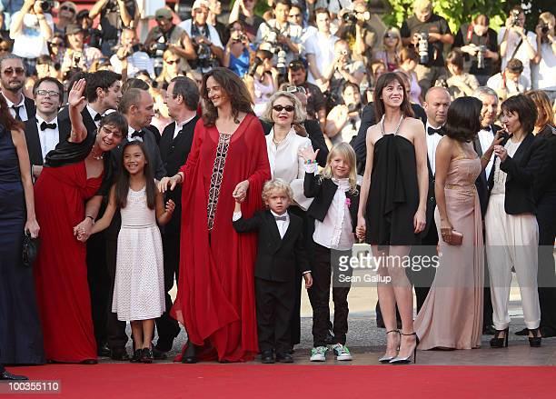 Producer Sue Taylor actress Zoe Boe Director Julie Bertucelli actors Gabriel Gotting Morgana Davies actress/musician Charlotte Gainsbourg attend The...