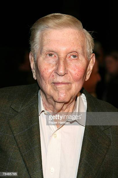 Producer Sumner Redstone arrives at the Paramount Pictures' Premiere Of 'Zodiac' held at Paramount Studios on March 12007 in Los Angeles California