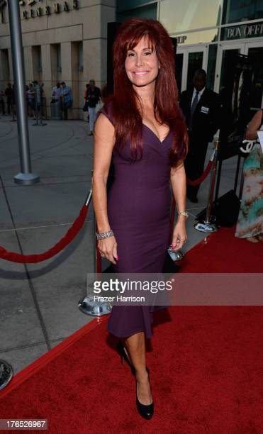 Producer Suzanne DeLaurentiis arrives at the Premiere Of Dark Tourist at ArcLight Hollywood on August 14 2013 in Hollywood California
