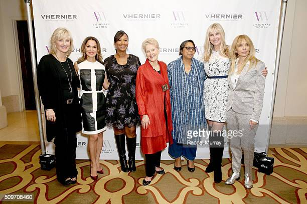 Producer Sybil Robson Orr Visionary Women President Angella Nazarian Visionary Women Board Member Nicole Avant President of Hunt Alternatives Swanee...