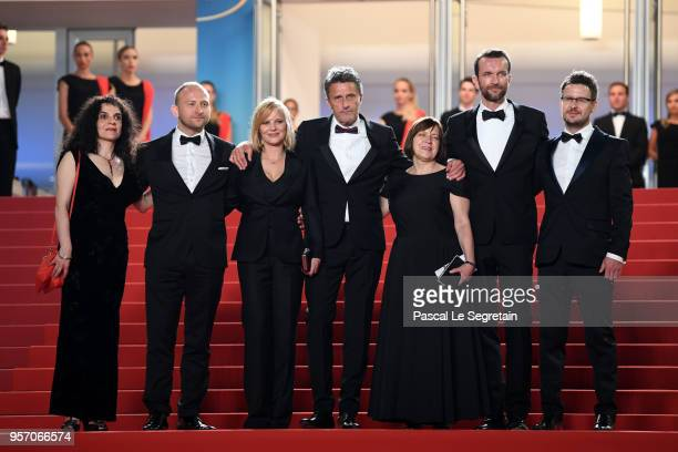 Producer Tanya Seghatchian, actor Borys Szyc, actress Joanna Kulig,producer Ewa Puszczynska, actor Tomasz Kot and cinematographer Lukasz Zal attend...
