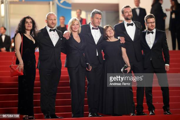 Producer Tanya Seghatchian, actor Borys Szyc, actress Joanna Kulig, director Pawel Pawlikowski, producer Ewa Puszczynska, actor Tomasz Kot and...
