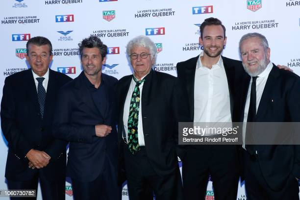 Producer Tarak Ben Ammar, Actor of the series Patrick Dempsey, Director of the series Jean-Jacques Annaud, Autor of the series Joel Dicker and...