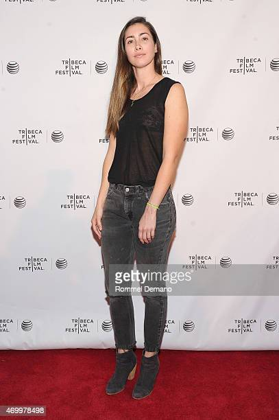 Producer Tattijani Ribeiro attends the premiere of Shut Up And Drive during the 2015 Tribeca Film Festival at Chelsea Bow Tie Cinemas on April 16...