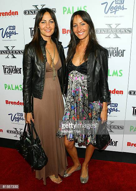 Producer Teena Collins and director Nicola Collins arrive at The End screening during the 2008 CineVegas film festival held at the Palms Casino...