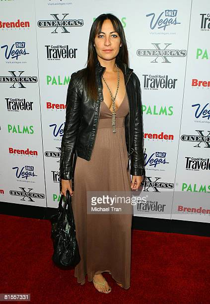 Producer Teena Collins arrives at The End screening during the 2008 CineVegas film festival held at the Palms Casino Resort on June 13 2008 in Las...