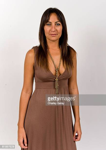 Producer Teena Collins from the film The End poses for a portrait during the 2008 CineVegas film festival at the Palms Casino Resort June 13 2008 in...