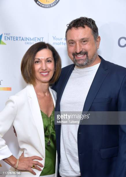 "Producer Terry Nardozzi and director Justin Ward attend the premiere of ""Relish"" at the Burbank International Film Festival at AMC Burbank 16 on..."