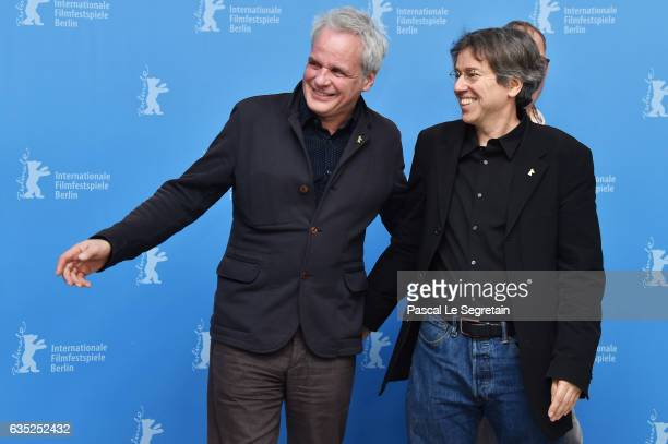producer Thomas Kufus and director and screenwriter Andres Veiel attend the 'Beuys' photo call during the 67th Berlinale International Film Festival...