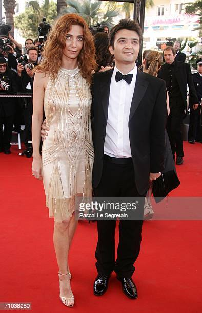 Producer Thomas Langmann and his wife attend the 'Marie Antoinette' premiere at the Palais des Festivals during the 59th International Cannes Film...