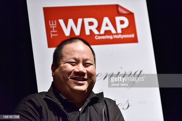 Producer Tim Kwok participates in a QA session following TheWrap's Awards Season Screening Series of Bunohan on December 10 2012 in Los Angeles...