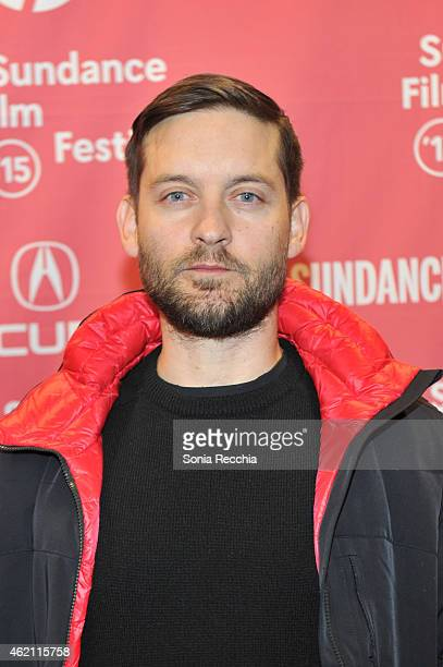 Producer Tobey Maguire attends the 'Z for Zachariah' Premiere during the 2015 Sundance Film Festival on January 24 2015 in Park City Utah