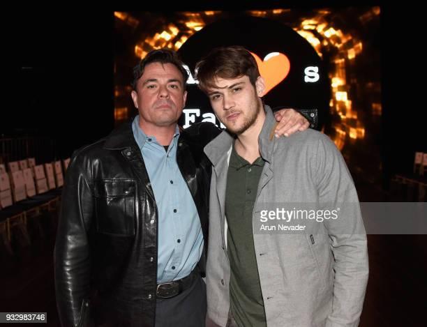Producer Tom DeSanto and Aleksander Ashafi attend Los Angeles Fashion Week Powered by Art Hearts Fashion LAFW FW/18 10th Season Anniversary Backstage...