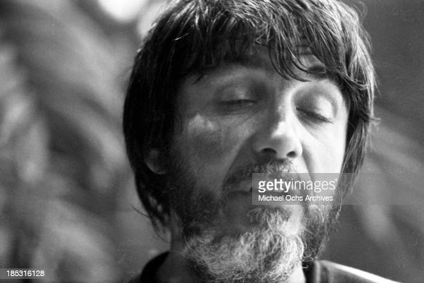Producer Tom Dowd records at Muscle Shoals Recording Studios on November 24, 1969 in Sheffield, Alabama.