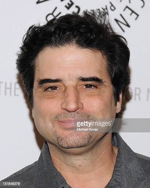 Producer Tom Hertz arrives at the Rules Of Engagement Panel at The Paley Center for Media on November 4 2010 in Beverly Hills California