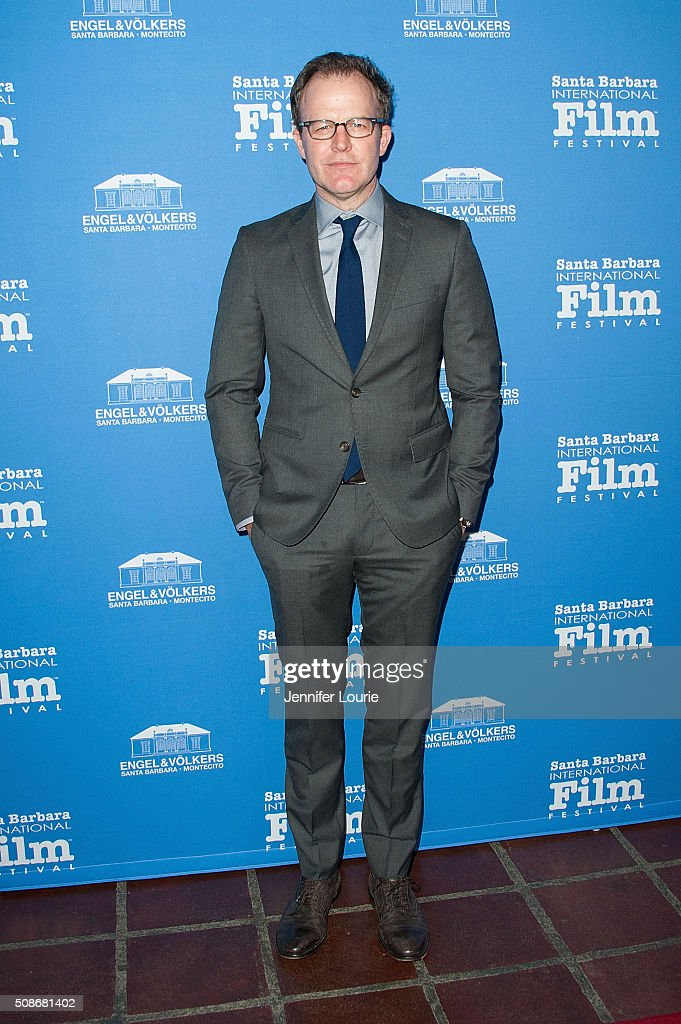 Producer Tom McCarthy arrives at the presentation of the American Riviera Award at the 31st Santa Barbara International Film Festival at the Arlington Theatre on February 5, 2016 in Santa Barbara, California.
