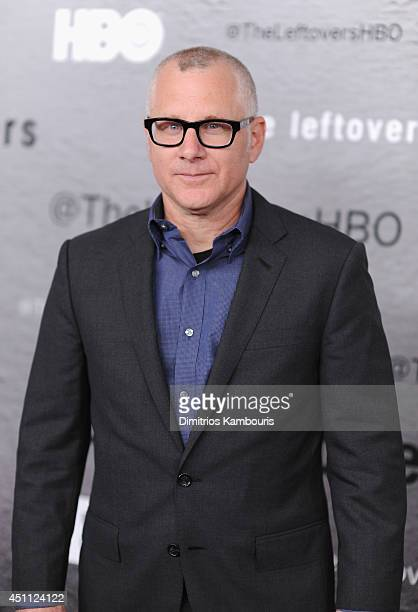 Producer Tom Perrotta attends The Leftovers premiere at NYU Skirball Center on June 23 2014 in New York City