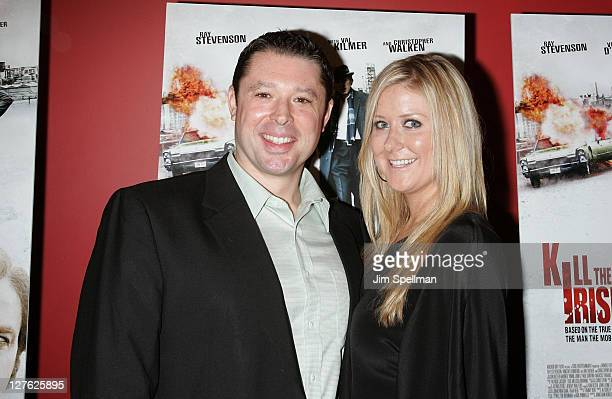Producer Tommy Reid and guest attend the premiere of Kill the Irishman at Landmark's Sunshine Cinema on March 7 2011 in New York City