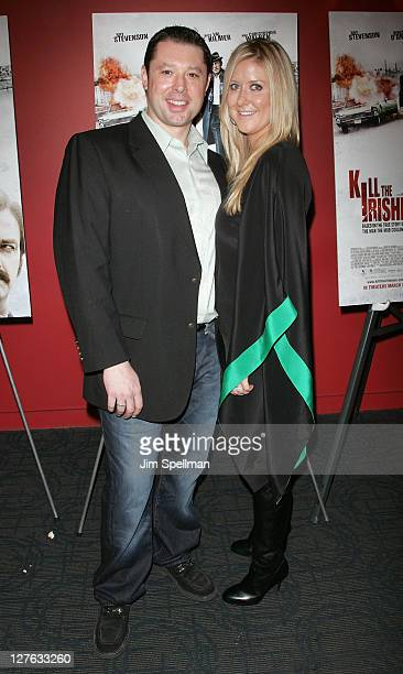 Producer Tommy Reid and guest attend the premiere of 'Kill the Irishman' at Landmark's Sunshine Cinema on March 7 2011 in New York City