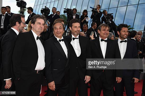 Producer Tony Comiti and guests attend the Premiere of Dheepan during the 68th annual Cannes Film Festival on May 21 2015 in Cannes France