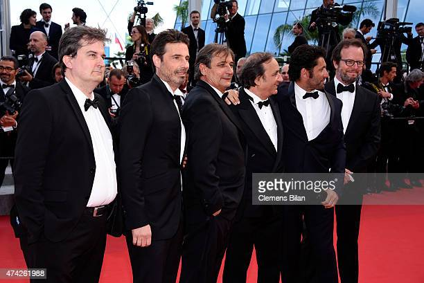 Producer Tony Comiti photographer Richard Melloul and guests attend the Premiere of Dheepan during the 68th annual Cannes Film Festival on May 21...