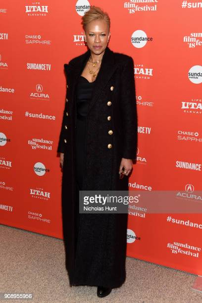 Producer Tonya Lewis Lee attends the 'Monster' Premiere during the 2018 Sundance Film Festival at Eccles Center Theatre on January 22 2018 in Park...