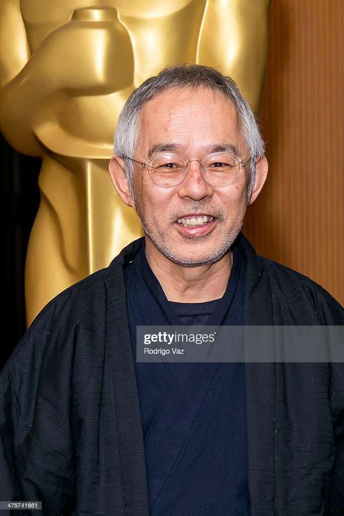 Producer Toshio Suzuki attends the 86th Annual Academy Awards Oscar Week Celebrates Animated Features at AMPAS Samuel Goldwyn Theater on February 28, 2014 in Beverly Hills, California.