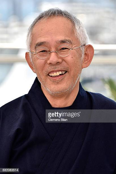 """Producer Toshio Suzuki attends the """"The Red Turtle"""" photocall during the 69th Annual Cannes Film Festival at the Palais des Festivals on May 18, 2016..."""