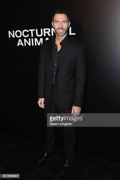Producer Travis Knight arrives at the screening of Focus Features' 'Nocturnal Animals' at the Hammer Museum on November 11 2016 in Westwood California