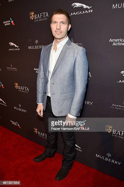 Producer Travis Knight attends the BAFTA Los Angeles Tea Party at The Four Seasons Hotel Los Angeles At Beverly Hills on January 10 2015 in Beverly...
