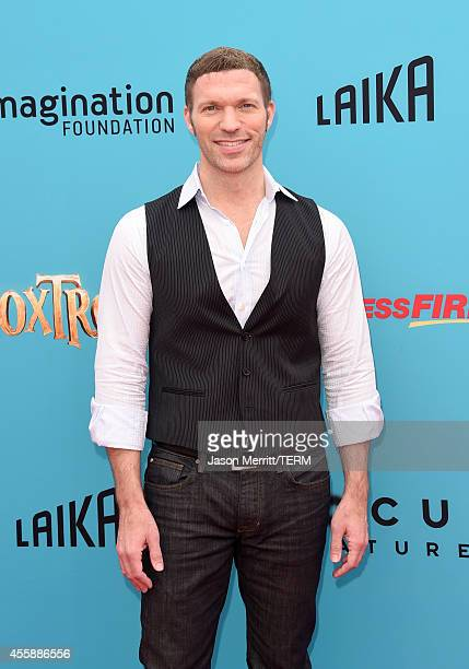 Producer Travis Knight attends the premiere of Focus Features' The Boxtrolls Red Carpet at Universal CityWalk on September 21 2014 in Universal City...