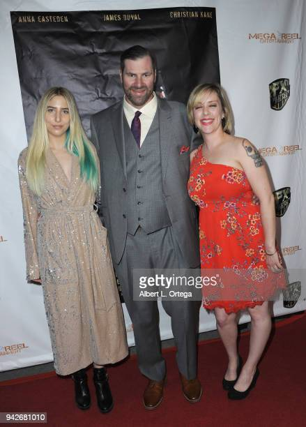 Producer Trevor Smith and guests arrive for the Los Angeles Premiere of 'Miles To Go' held at Writers Guild Theater on April 5 2018 in Beverly Hills...