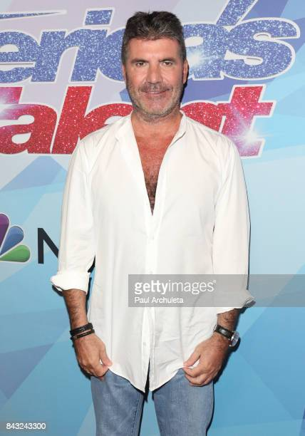 Producer / TV Personality Simon Cowell attends the NBC's America's Got Talent season 12 live show at Dolby Theatre on September 5 2017 in Hollywood...