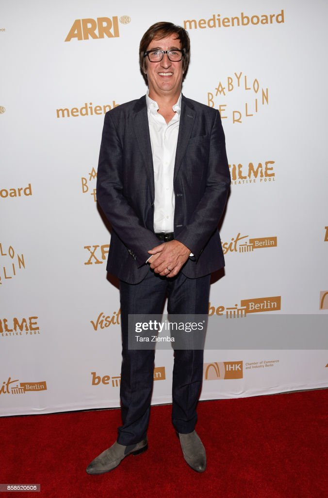 Producer Uwe Schott attends the premiere of Beta Film's 'Babylon Berlin' at The Theatre at Ace Hotel on October 6, 2017 in Los Angeles, California.