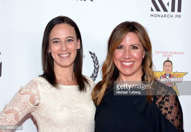 Producer Valerie BoBo and actress Valerie Schrementi attend the Kash Hovey and Friends Film Block at Film Fest LA at Regal Cinemas LA LIVE Stadium 14...