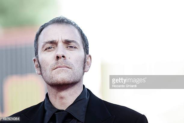 Producer Valerio Mastrandrea is photographed for Self Assignment on September 11 2010 in Rome Italy