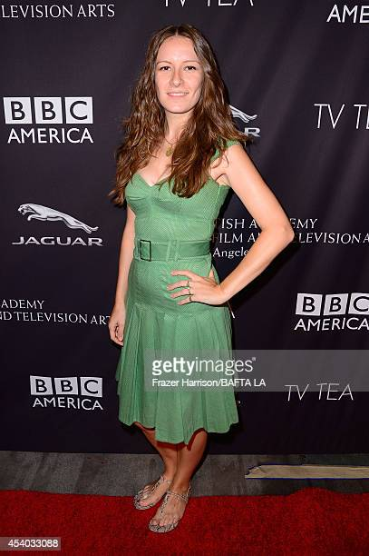 Producer Vicky Petela attends the 2014 BAFTA Los Angeles TV Tea presented by BBC America And Jaguar at SLS Hotel on August 23 2014 in Beverly Hills...