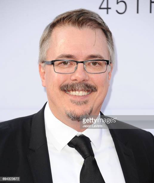 Producer Vince Gilligan attends the AFI Life Achievement Award gala at Dolby Theatre on June 8 2017 in Hollywood California