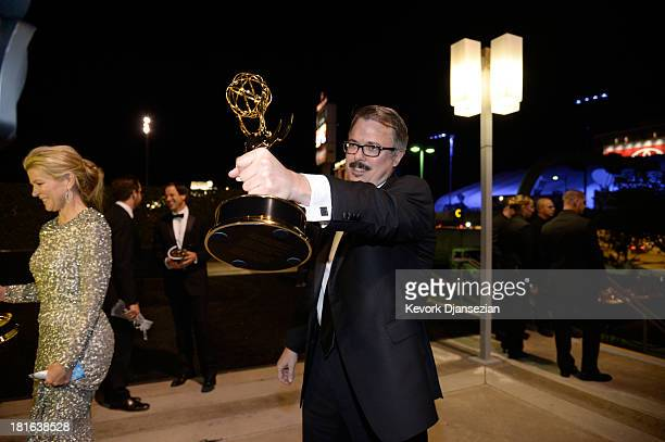 Producer Vince Gilligan attends the Governors Ball during the 65th Annual Primetime Emmy Awards at Nokia Theatre LA Live on September 22 2013 in Los...