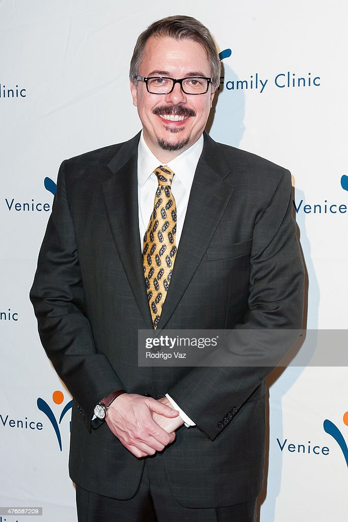 Producer Vince Gilligan attends the Venice Family Clinic's 35th Annual Silver Circle Gala at The Beverly Hilton Hotel on March 3, 2014 in Beverly Hills, California.