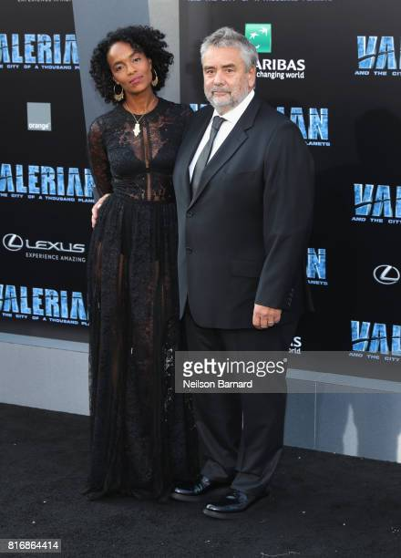 Producer Virginie BessonSilla and director Luc Besson attend the premiere of EuropaCorp and STX Entertainment's 'Valerian and The City of a Thousand...