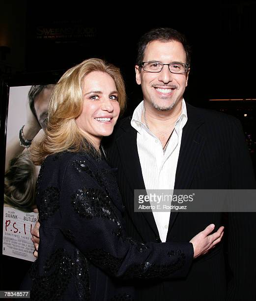 Producer Wendy Finerman and director Richard LaGravenese arrive at the premiere of Warner Bros' 'PS I Love You' held at Grauman's Chinese Theater on...