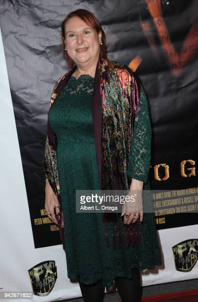 Producer Wendy Nelson arrives for the Los Angeles Premiere of 'Miles To Go' held at Writers Guild Theater on April 5 2018 in Beverly Hills California