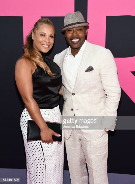 Producer Will Packer and Heather Hayslett arrive at the premiere of Universal Pictures' Girls Trip at the Regal LA Live Stadium 14 on July 13 2017 in...
