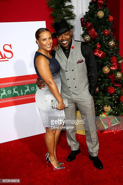 Producer Will Packer and Heather Hayslett attend the premiere of Universal's Almost Christmas at Regency Village Theatre on November 3 2016 in...