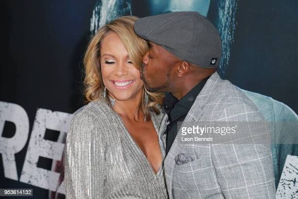 Producer Will Packer and his wife Heather Hayslett Packer attend Universal Pictures' Special Screening Of Breaking In Arrivals at ArcLight Cinemas on...