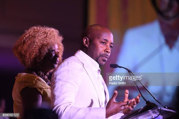 Producer Will Packer speak onstage at 2017 BronzeLens Film Festival Women SuperStars Luncheon at Westin Peachtree Plaza on August 25 2017 in Atlanta...