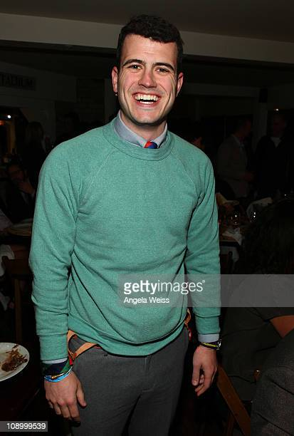 Producer Willie Ebersol attends the Friends N Family Dinner at The Jack Warner Estate on February 10 2011 in Los Angeles California